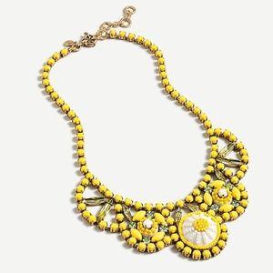 JCrew Radiant blooms statement necklace; NEW
